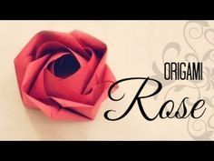 How to make an Origami Rose (Evi Rose, by Evi Binzinger). Link download: http://www.getlinkyoutube.com/watch?v=RWybarjPE1Q
