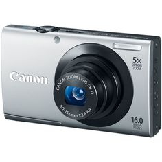 Canon PowerShot IS MP Digital Camera with Optical Image Stabilized Zoom Wide-Angle Lens with HD Video Recording and Touch Panel LCD (Silver) - - Product Cheap Digital Camera, Canon Digital, Smart Auto, Camera Store, Optical Image, Canon Powershot, Wide Angle Lens, Camera Settings, Hd Video