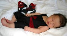 Baby wrestler (: totally be my kid if Ivan and I have one!