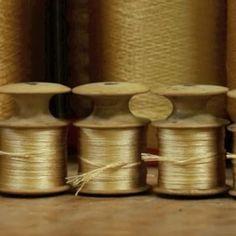 #weaving #process #pierrefreythebook #handmade #madeinfrance #silk #interior #homedecor