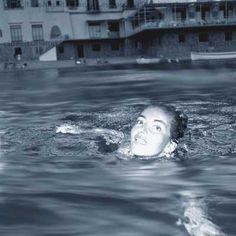 Maria Callas  a Ischia - 1957