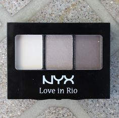 NYX Love in Rio Eyeshadow Trio in Barefoot in the Sand ♥ Swatches, Photos & Review