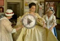 Crafting a Colonial Ballgown. The making of a gown in the Margaret Hunter Shop, Colonial Williamsburg