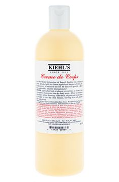 Kiehl's Creme de Corps  This might be one of the most beloved moisturizers in existence.  Buy from Nordstrom for $11 - $48