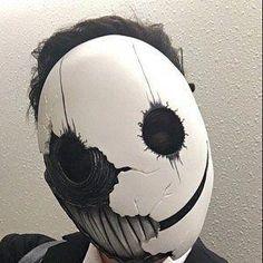 Smile version 2: Resin cast mask | Etsy Creepy Masks, Creepy Art, Mascara Anbu, Mask Drawing, Arte Horror, Masks Art, 3d Prints, Art Plastique, Custom Paint