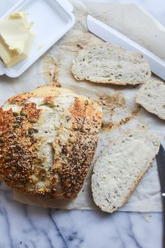 Seedy Sourdough Brea