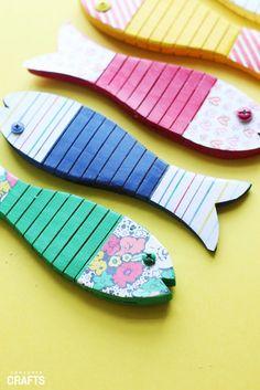 DIY Fishing Game: Step by Step - Consumer Crafts Fishing Games, Diy Games, Crafts, Manualidades, Handmade Crafts, Craft, Arts And Crafts, Artesanato, Handicraft