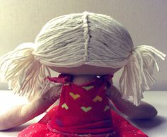 """I wanted to expand on the hair tutorial that is included in my new """"Lanky Lily"""" doll pattern for you. I realize the one in the tutorial..."""