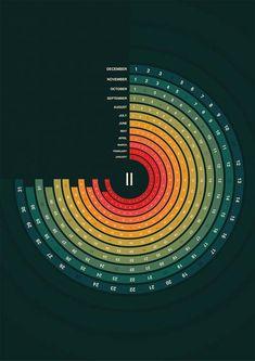 Showcase of Creatively Designed Calendars                                                                                                                                                                                 More