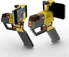 Smartphone Laser Tag - cool features like armor, ammo, and health packs - Click image to find more Technology Pinterest pins