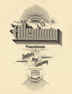 Title pages, headings and letterforms clipped, cropped and isolated
