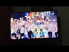 Olimpíadas Rio 2016 Desfile de abertura. Da Alemanha até Bahamas. Show d...