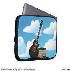 Electric Guitar Computer Sleeve