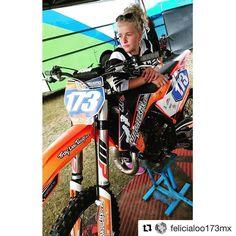 GL!  #Repost @felicialoo173mx  #race #motocross #dwbtoftshit #Mxgirls #big #in4lifecollection