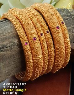 Bangles Call or Whatsapp Call or Viber api. Plain Gold Bangles, Gold Bangles Design, Gold Earrings Designs, Gold Jewellery Design, Silver Bracelets, Bangle Bracelets, Bangle Set, Gold Jhumka Earrings, Gold Necklace