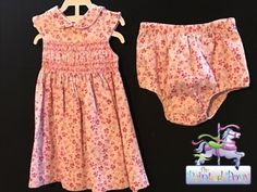 Cute dress with bloomers, floral design, size 18 M, just $8.99