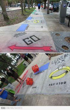 9GAG - Monopoly Street