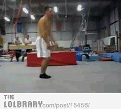 Scary gymnast trick ~ WOW!!!*