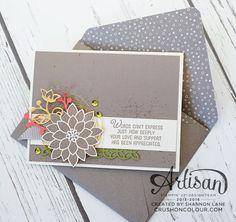 Crush On Colour: Flourishing Phrases - Stampin' Up! Artisan Design Team Blog Hop
