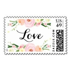 Soft Petals Postage Stamp