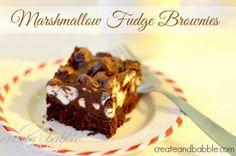 Marshmallow Fudge Brownies