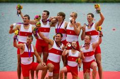 Canada's men's eight rowing crew wins silver at London Olympics
