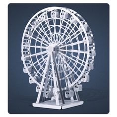 Ferris Wheel Metal Earth Model Kit