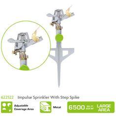 622522 Impulse Sprinkler With Step Spike