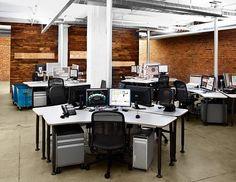 conduit in center of desks? FJ11UQF