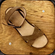 This is the Koos sandal named Victoria in suede, at Zolamanola.