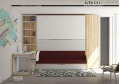 Litera abatible VERSATILE con sofá 190 x 90
