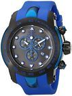 Invicta Men's 18028SYB Pro Diver Black SS Watch with Blue Silicone Band