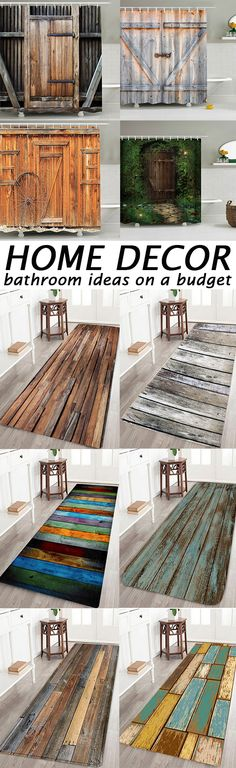 2020 Wood Bathroom Best Online For Sale Bathroom Rugs And Mats, Wood Bathroom, Bath Rugs, Shabby Chic Apartment, Palette, Room Paint Colors, Bathroom Trends, Bathroom Ideas, Best Bath