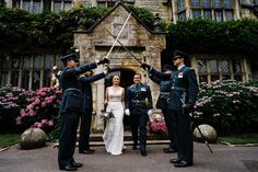 Military wedding    Sarah and Lauren's laid back and intimate Smallfield Place wedding    Same sex lesbian English manor house wedding with creative wedding photography by Babb Photo
