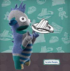 How To: Make a Stupid Sock Creature  But he's soooo cute!