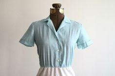 Twin peaks, diner dress, retro dress, green dress, mint ...