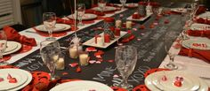 valentine tablescapes - Google Search