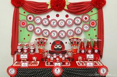 Ladybug Birthday Party #LadyBug #Party