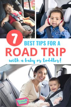 Hit the road with your baby or toddler with these helpful travel tips! Make the miles zoom by with this expert advice for road trips with babies and toddlers. Car trips will be happier for the whole family with these simple things you can do on your next vacation. #roadtrips #roadtrip #travelwithkids #familytravel #travelwithbaby #babies #toddlers