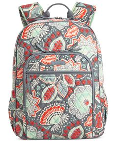 069d11e1df1a Vera Bradley s Campus Backpack combines all the fun details… Floral Backpack