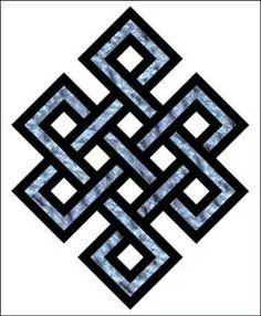 Sonsuzluk işareti Buddhist Symbols, Celtic Symbols, Buddhist Art, Ancient Symbols, Celtic Knot, Esoteric Symbols, Tatoo Symbol, Motifs Islamiques, Symbols And Meanings