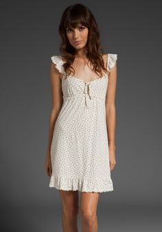 Shop for Juicy Couture Sleep Vintage Bud Nighty in Angel Combo at REVOLVE. Lingerie Sleepwear, Nightwear, Pretty Outfits, Beautiful Outfits, Pyjamas, Modest Dresses, Summer Dresses, Beautiful Lingerie, Comfortable Outfits