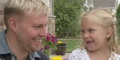 Little Girl Meets The Only Person Who Could Save Her Life