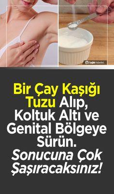 Bir Çay Kaşığı Tuzu Koltuk Altı ve Genital Bölgeye Sürün! Olacaklara İnanamayacaksınız! #genital #kadın #güzellik #bakım #cilt #tuz #doğal #şifa #sağlık #sağlıklı #sağlıklıyaşam #sağlıkhaberleri
