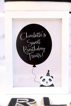 Pandas Birthday Party Ideas | Photo 1 of 51