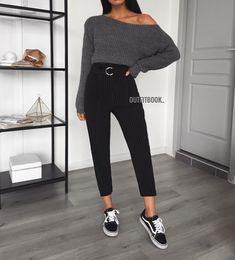 Fav combo ✔️ Ce pantalon est parfait ! ⚡️Vite -15% sur tout le site avec le code: FUN15 ⚡️ Pantalon ref 1575 | Pull ref 5530 | www.outfitbook.fr