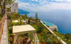 An insider's guide to the best hotels on the Amalfi Coast, including in   Positano, Sorrento and Ravello, featuring the top places to stay for   clifftop views, romantic dining, Michelin-starred restaurants, private   terraces and delightful breakfasts