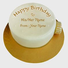 Write Name on Clock Shape Birthday Wishes Cake.Print Name on Custom Cake Online.Customize Cake Name Picture With Name Online.Text Editing on Birthday Cakes Sweet Birthday Quotes, Thank You Messages For Birthday, Happy Birthday To Him, Birthday Card With Name, Birthday Cake Writing, Birthday Cake For Mom, Birthday Wishes Cake, Birthday Cake With Flowers, Birthday Cakes