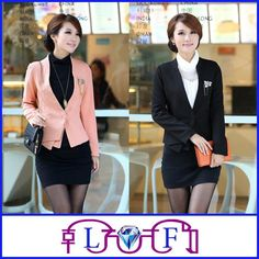 Wholesale Spring Designer Suit - Buy 2014 Best Selling Spring Designer One Button Korean Slim Women Suit $18.38 | DHgate.com