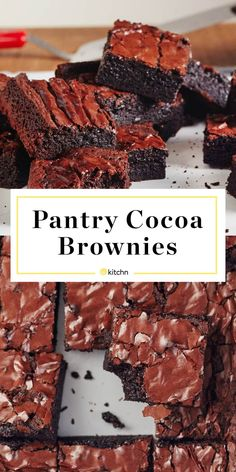 Pantry Cocoa Brownies | Kitchn